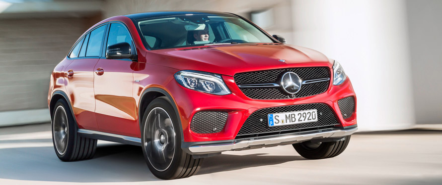 Фотографии Mercedes-Benz GLE-Класс купе 2019 года
